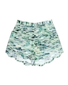 Samantha Pleet Sea Print Wave Shorts