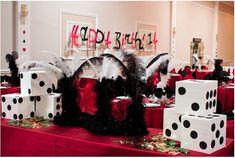 DIY Casino themed birthday party   Partyyy   Pinterest
