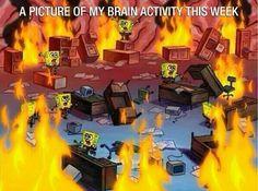 "23 Times ""SpongeBob Squarepants"" Captured The Essence Of Band Camp Best Memes, Dankest Memes, Funny Memes, Jokes, True Memes, Meme Meme, Stupid Memes, Memes Portugal, Green Bubble"