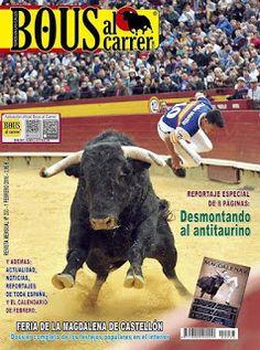 torodigital: Portada de la revista de febrero de Bous al Carre...