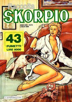 Fumetti EDITORIALE AUREA, Collana SKORPIO RACCOLTA n°314 LUGLIO 2000