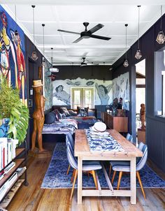 Using your spaces the way you need to use them. Méchant Design: Byron Bay house tour