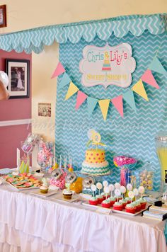 Sweet Shoppe Sweet Shop Candy Shop Birthday by Partyperfectdesign
