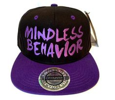 Mindless Behavior Snapback Hat Cap Snap Back on Etsy, $16.99