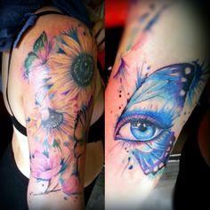 Watercolors tattoo