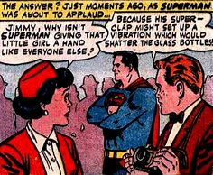 Or the actual reason - Superman is a giant tool who hates the happiness of children.