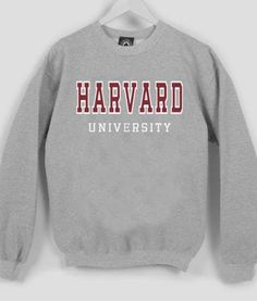 Buy harvard university Sweatshirt from bigmartel.com This t-shirt is Made To Order, one by one printed so we can control the quality. We use newest DTG Technology to print on to harvard university Swe