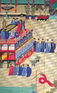 Jiao Bingzhen, Taoist Ritual at the Imperial Court, Qing dynasty, 1723-1726