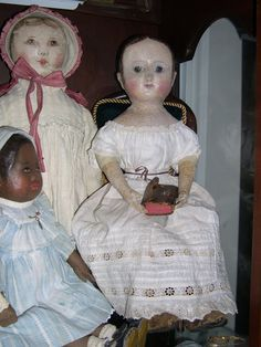 Izannah Walker Chronicles: Addie, An Izannah Walker Doll