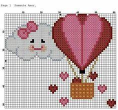 no count cross stitch kits Embroidery Hearts, Cross Stitch Embroidery, Embroidery Patterns, Hand Embroidery, Beading Patterns, Cross Stitch Heart, Counted Cross Stitch Patterns, Cross Stitch Designs, Sgraffito