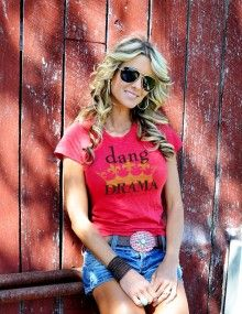 New Dang Chicks tee...dang drama