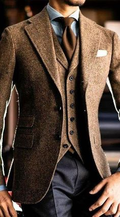 Gentleman Style 809310995524302646 - – – Source by Mens Fashion Blazer, Suit Fashion, Classy Mens Fashion, Style Fashion, Mode Man, Classy Suits, Classy Style, Mode Costume, Designer Suits For Men