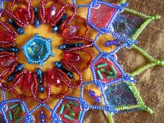 Mandalas Created with BeadsBead Creative with Nancy Eha