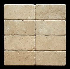 ivory travertine subway tile backsplash