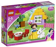 LEGO DUPLO Disney Princess Snow Whites Cottage  6152 * For more information, visit image link.