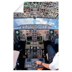 Cockpit Wall Decal