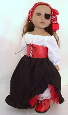 Little Buccaneer par MyGirlClothingCo sur Etsy, $34.00