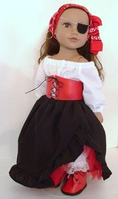 Little Buccaneer by MyGirlClothingCo on Etsy, $34.00