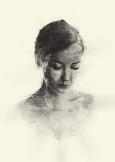 Lena on Behance Painting & Drawing, Graphite, Portrait, Drawings, Illustration, Behance, Paper, Art, Sketches