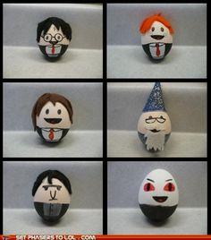 Harry Potter Easter eggs!