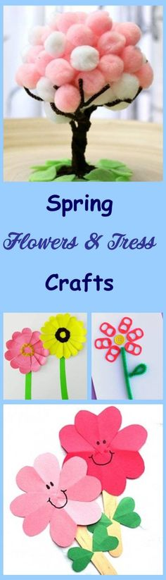 Flowers and Tress Kids Crafts