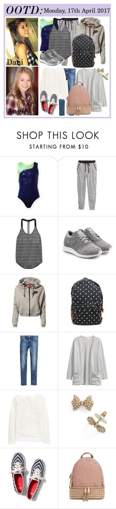 """""""OOTD - 17.04.2017"""" by datpolyfamily ❤ liked on Polyvore featuring H&M, NIKE, adidas Originals, Etiquette, Keds and MICHAEL Michael Kors"""
