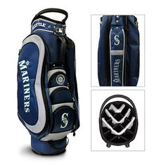 Authentic MLB Team Golf Seattle Mariners Medalist Golf Cart Bag - NEW IN BOX
