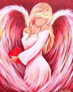 Angel Artwork, Angel Drawing, Cross Stitch Angels, Angel Pictures, Angels Among Us, Cross Paintings, Paintings Of Angels, Guardian Angels, Pretty Pictures