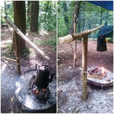 HOW TO…. CARVE A MORTISE AND TENON CAMPFIRE CRANE