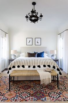 This bright boho bedroom by Katie Hodges gets recreated for less by copycatchic luxe living for less budget home decor and design daily finds, home trends and room redos