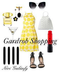 """Untitled #27"" by nori-galanfy on Polyvore featuring Dorothy Perkins, Michael Kors, Versace, Nordstrom and Graham & Brown"