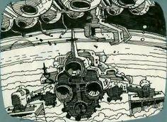Alien Storyboards Artwork