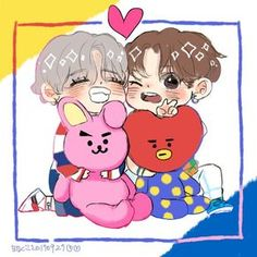 Help these taekook fanarts are getting cuter