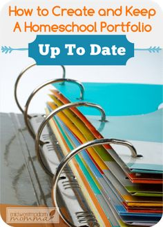 Share Tweet Pin Mail Creating & keeping a homeschool portfolio up to date is one of the most stressful parts of homeschooling. Deciding what ...