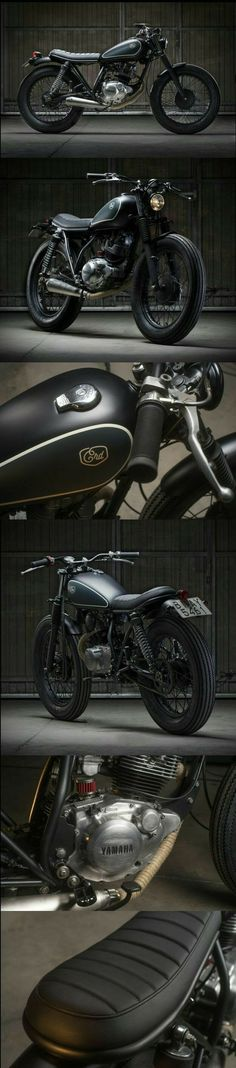 Bobber motocicleta yamaha street tracker 44 ideas de moda - all motorcycle everything - Motocicletas Yamaha Cafe Racer, Cafe Racers, Xj Yamaha, Cg 125 Cafe Racer, Moto Cafe, Cafe Bike, Yamaha 125, Honda Cb750, Blitz Motorcycles