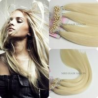 60# Micro Loop Hair Extensions/Micro Ring Hair Extensions 100pcs a lot use Best Brazilian Remy Hair  for women Hair Extensions
