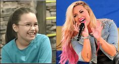 Demi Lovato  Disney Channel Stars Then And Now • Page 5 of 5 • BoredBug