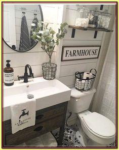 57 farmhouse bathroom organization ideas 29 Great Bathroom Storage Solutions and Organization Ideas Guest Bathrooms, Rustic Bathrooms, Budget Bathroom, Master Bathroom, Bathroom Ideas, Bathroom Makeovers, Bathroom Mirrors, Small Bathrooms, Bathroom Renovations