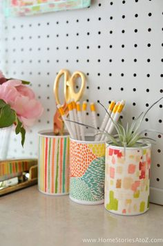 Adorable DIY Dorm School Supplies Dorm Decor w/ Tutorials