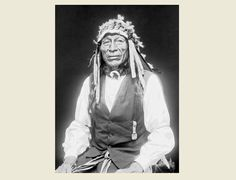 1913 Chief Iron Tail PHOTO Buffalo Nickel, Buffalo Bill Wild West Show Star