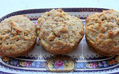 Grain Crazy: Whole Grain Pear-Ginger Muffins