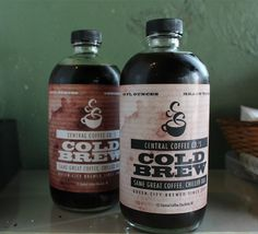 Central Coffee Co. out in Charlotte uses the Toddy system to brew a concentrate.