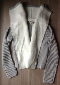 love this cozy sweater-the Gareth open draped sweater jacket= a keeper
