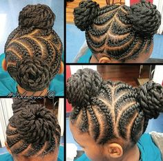 Cute style for a little girl by @kiabia87  Read the article here - http://blackhairinformation.com/uncategorized/cute-style-little-girl-kiabia87/