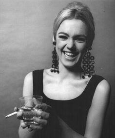 Edie Sedgwick photographed by Jerry Schatzberg c. 1966.