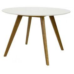 Bess table a manger ronde de design scandinave - Depot Design