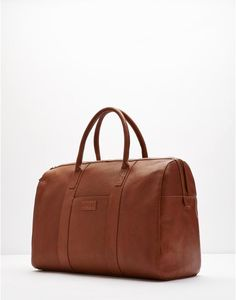 MARCHMONT Leather Holdall Bag, the perfect gift this Christmas