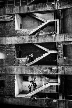 Escaleras en Caracas