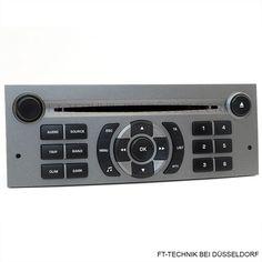 Ein Original Radio Peugeot 407 CD Radio! Das Radio unterstützt die serienmäßige Lenkradfernbedienung und Displayanzeige im Armaturenbrett. In unserem Shop!