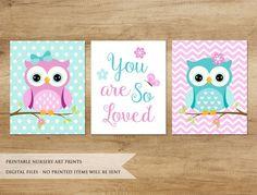 Owl print nursery printable decor animals baby girl paintings for painting ideas . Owl Canvas, Nursery Canvas, Kids Canvas, Nursery Prints, Nursery Art, Acrylic Canvas, Nursery Ideas, Baby Girl Nursery Decor, Owl Print